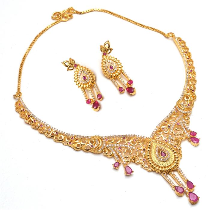 f598082b43a Necklace Set Kundan Pearl Polki Ad Cz Jade Gemstones Jewelry...more
